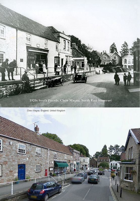 Somerset Then & Now - Chew Magna