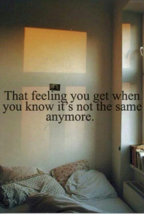 That feeling...