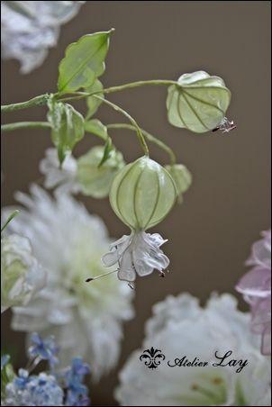 #アメリカンフラワー #グリーンベル #flower #greenBell #artflower