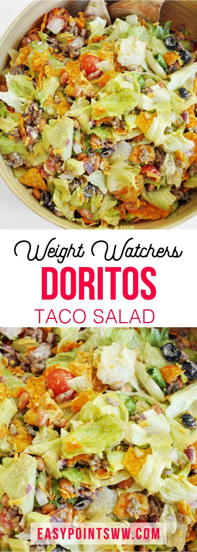 WW Doritos Taco Salad ♥