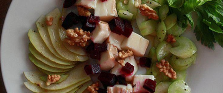 Insolita insalata con Taleggio D.O.P. #ricette #taleggio #taleggiodop #antipasti