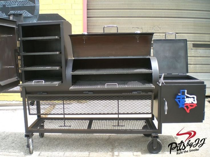 Jj 24x48 smoker ur Built in grill, Outdoor grill