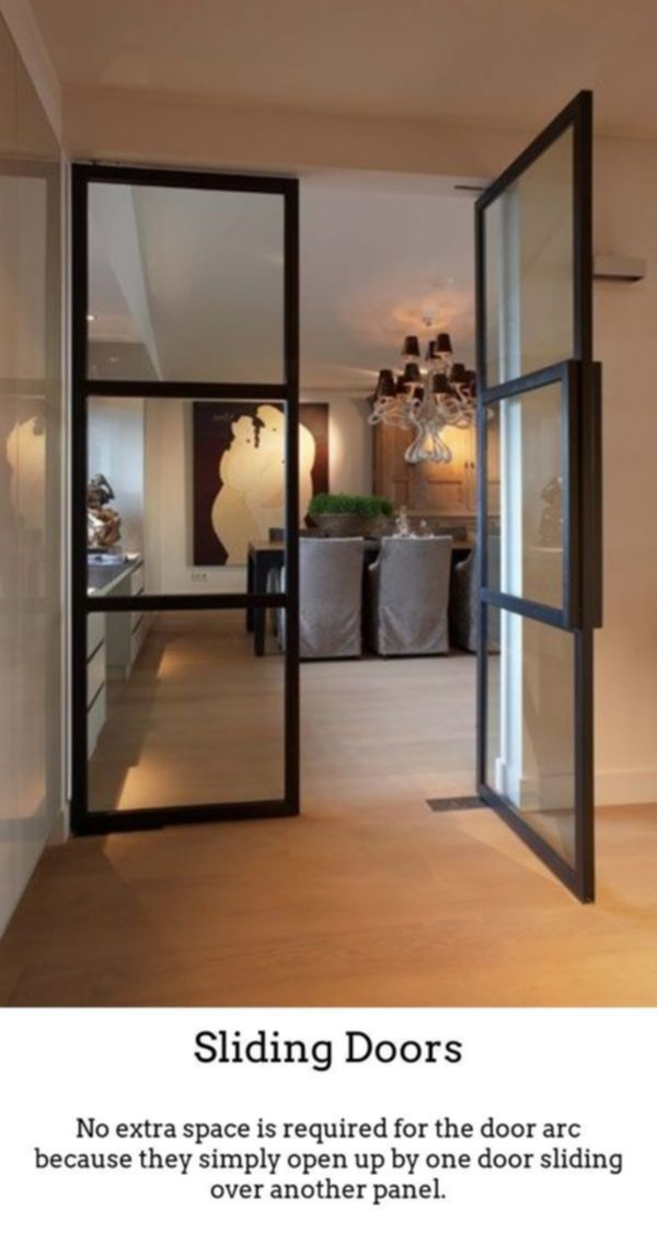 Sliding Doors Produce Your Own Stylish Bright Noticeable Spaces With The Help Of Thermally I Internal Glass Doors Glass Doors Interior French Doors Interior
