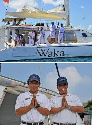 Our WakaSailing crews are ready to ensure you will have an unforgettable ocean cruising to Nusa Lembongan island. http://www.wakahotelsandresorts.com/waka-bali-sailing