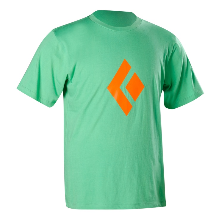 Black Diamond - Men's Icon Logo TeeLogo Tees, Artsy Things, Casual Shirts, Men Icons, Men Shirts, Black Diamonds, Men Apparel, Icons Logo, Diamonds Icons