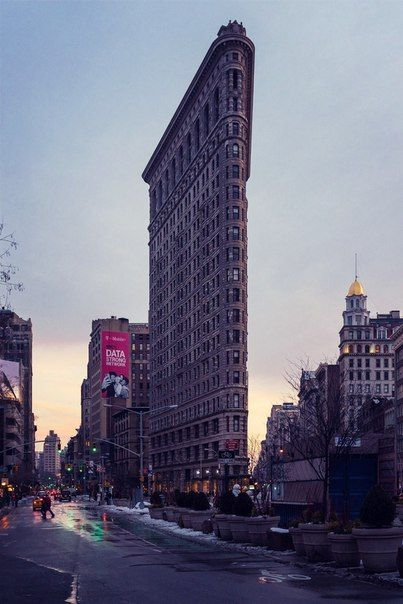 Флэтайрон-билдинг (Здание в Нью-Йорке) / Speleologov.Net - мир кейвинга