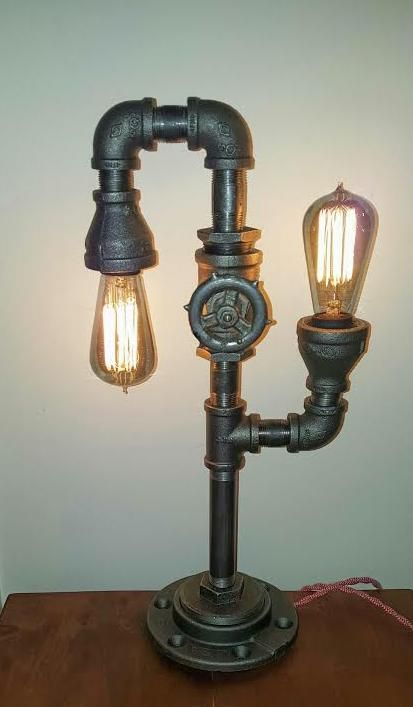 Iron Pipe Light Fixture Best 25+ Pipe Lamp Ideas On Pinterest | Pipe Lighting