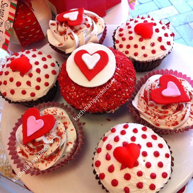 ❤ Upominek na walentynki #4 - romantyczne muffinki