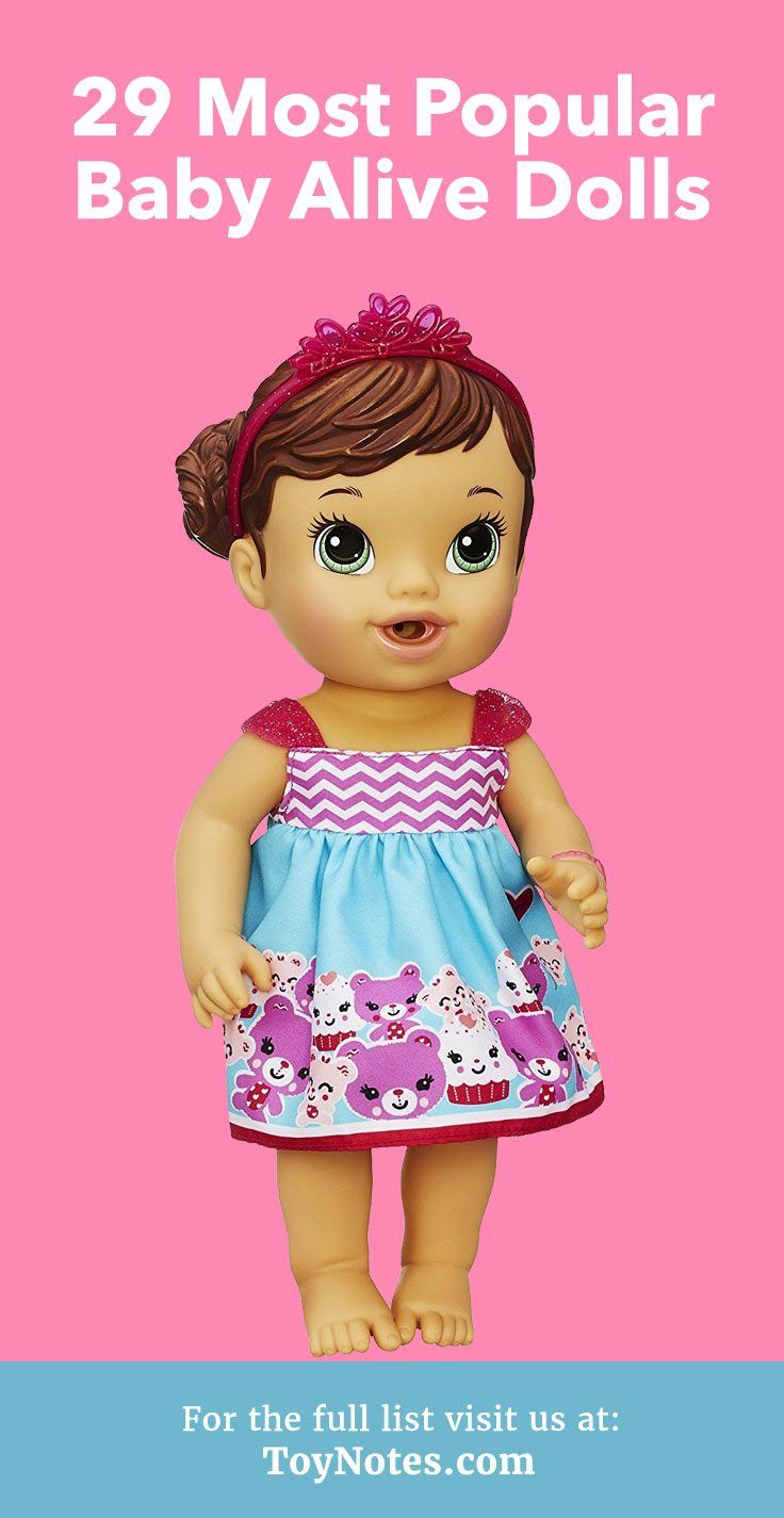 11 Most Popular Baby Alive Dolls - Toy Notes  Baby alive dolls