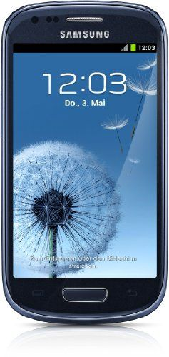 Samsung Galaxy S III Mini I8190 8GB Unlocked GSM Phone with Android 4.1 OS, Dual Core, Super AMOLED Touchscreen, 5MP Cam