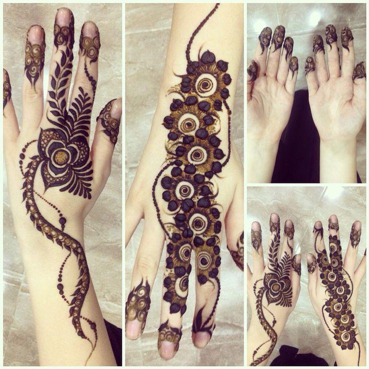 My henna for Eid in Dubai 2014