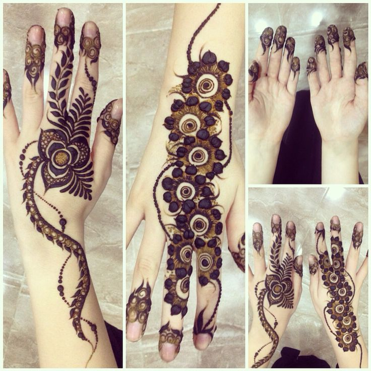 My henna for Eid in Dubai 2014