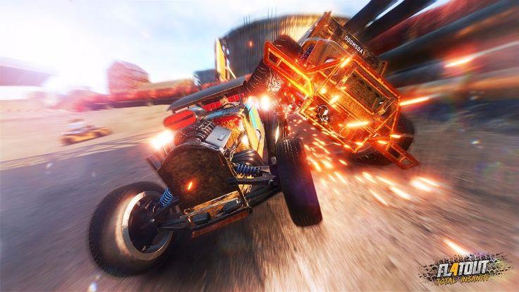 A PQube e a Bigben Interactive lançaram um novo trailer de FlatOut 4: Total Insanity e o que não faltam são batidas e explosões. De cara, já podemos perceber um novo sistema de colisões, que deformam o carro mais realisticamente e explosões mais dinâmicas, que aparecem a cada...