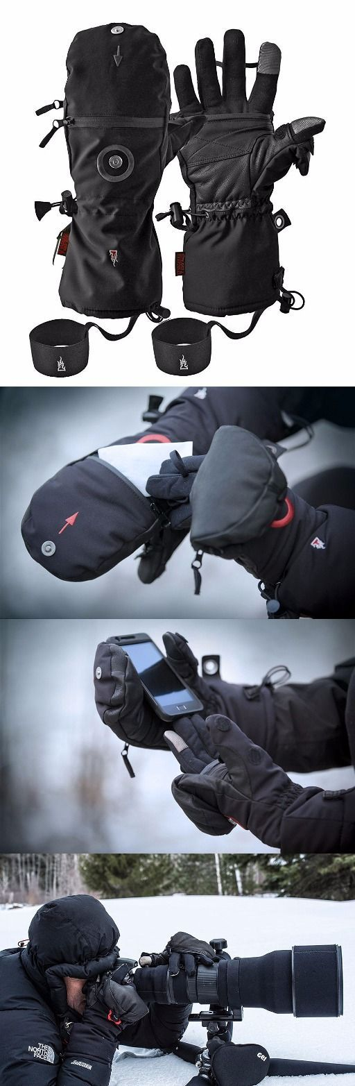 Heat 3 Survival Gear Smart Gloves (Black) - Designed for European Special Forces for warmth, grip and dexterity