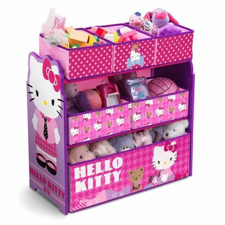 Hello Kitty Multi-Bin Toy Organizer