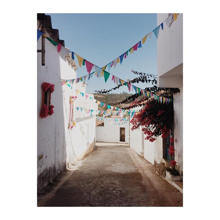Little celebration alley in Portugal