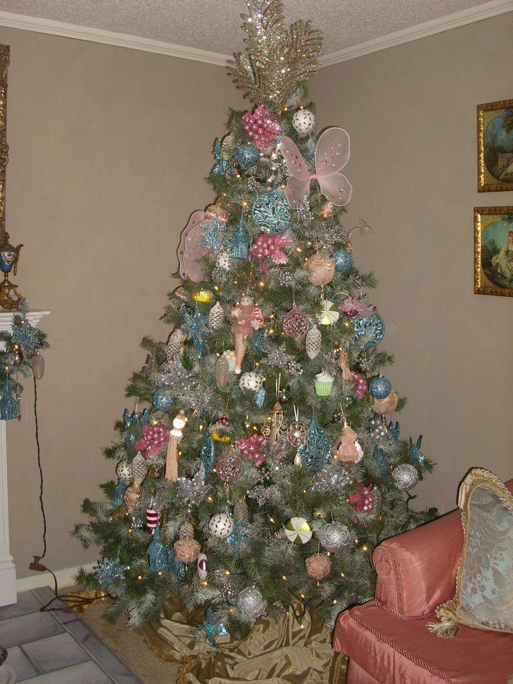 Pink & Blue Christmas Vintage christmas, Blue christmas
