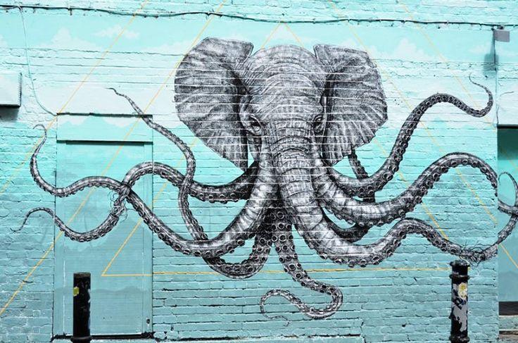 Seni Jalanan Lukisan Mural di Kota London di Inggris 2