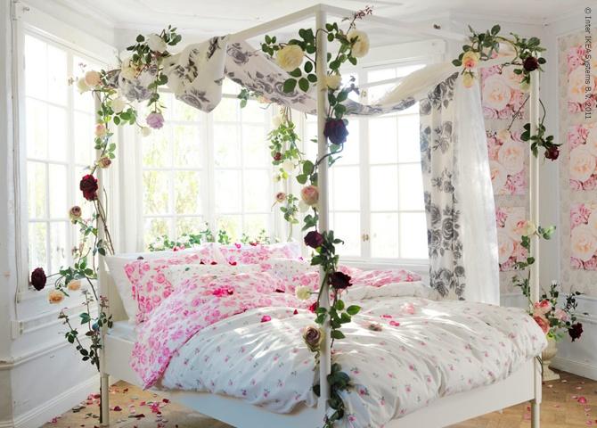 Die besten 25+ Romance in bed Ideen auf Pinterest Französisch - romantisches schlafzimmer mit himmelbett gestalten