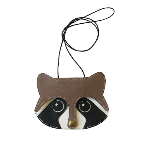 Raccoon mini purse