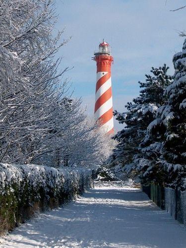 Westerlichttoren or West Schouwen Zeeland Netherlands 51.708889, 3.691111