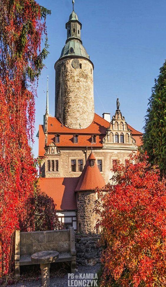 At the Czocha Castle, Poland.