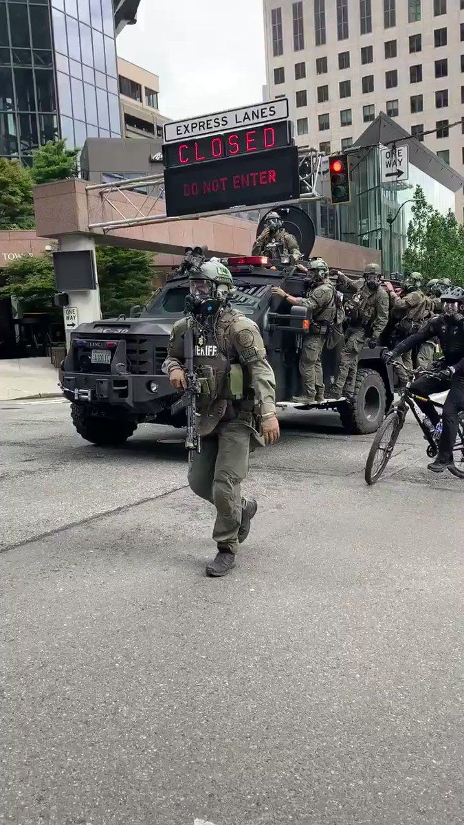 Jo Ling Kent On Twitter Heavy Police Presence In Downtown Seattle 45 Min Before Curfew Goes Into Effect Tonight Nbcnews
