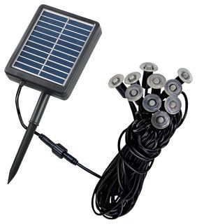 Kenroy 60506 Solar Micro Light String - transitional - outdoor lighting - by Lighting Front