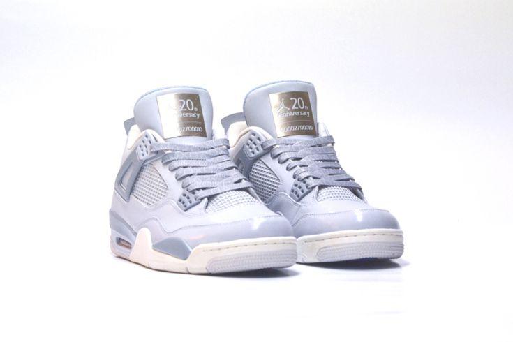 "Air Jordan IV ""JRDN4 x PS4 20th Anniversary"" Custom by FreakerSneaks"