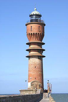 Le Feu de Saint Pol   Dunkerque  Nord   1937   haut. 36m