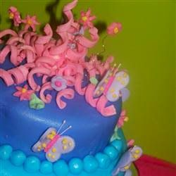 """Rolled Buttercream Fondant   """"Great rolled fondant recipe for cakes or cookies. Tastes like buttercream frosting."""""""