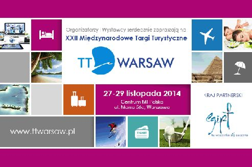 22nd International Travel Show TT Warsaw   Link to Poland