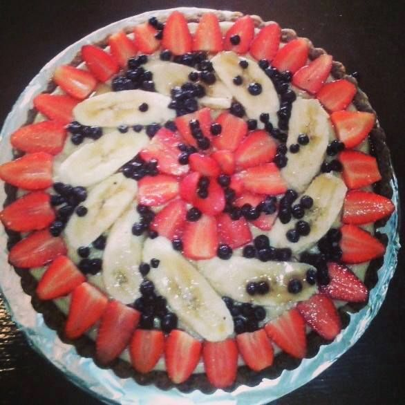 crostata di frutta | Come en mi casa Art Cafè | Costa Rica  #crostata #frutta #costarica #artcafè #foodtipandmore