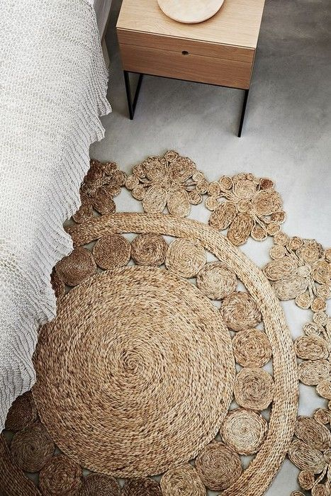 Beautiful Flooring Idea Handmade Rugs  21 photos Interiordesignshome.com Cute handmade rug #HandmadeRugs
