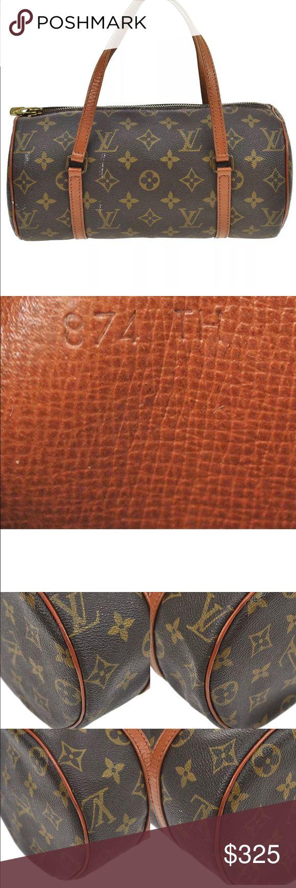 Authentic louis vuitton bag tm3299 authentic louis vuitton monogram canvas papillon M51366 hand bag Louis Vuitton Bags Shoulder Bags