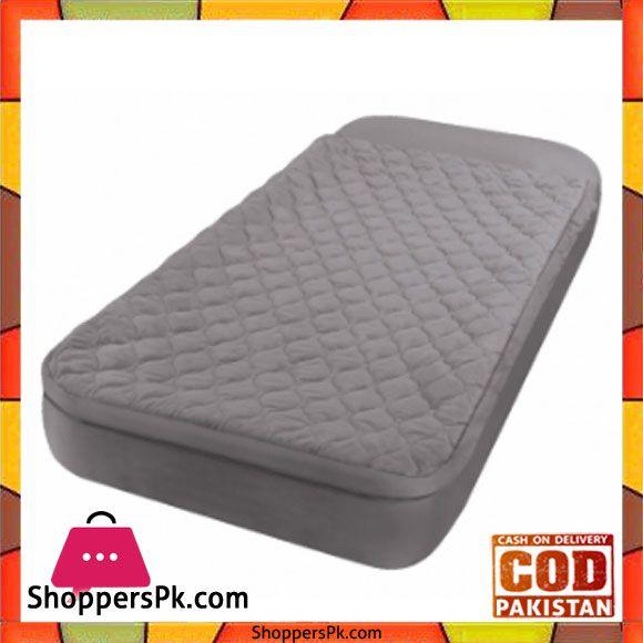 Intex Twin Airbed Sleeping Bag Grey 66998 Shopperspk Com Pakistan