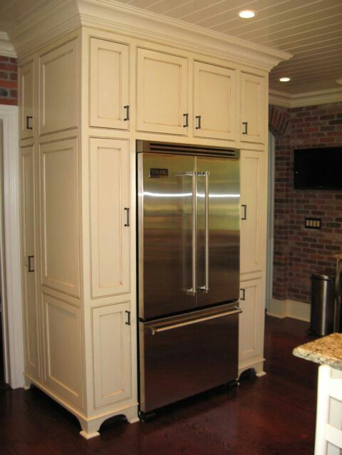 best 25 built in refrigerator ideas on pinterest corner