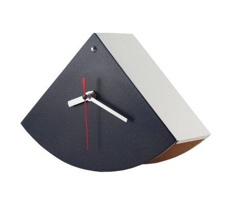 Desk clock black and white buJAczeK by ArtmaStudio on Etsy, $37.00