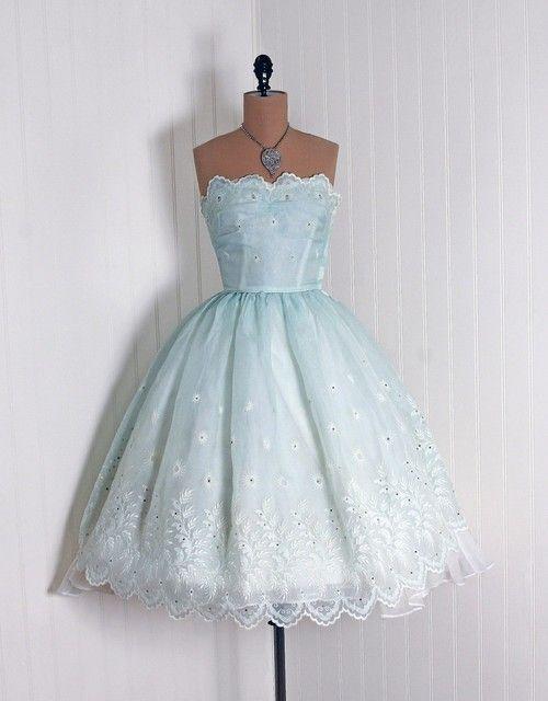 Dress  1950s  Timeless Vixen Vintage, Totally adorable!  I want it!