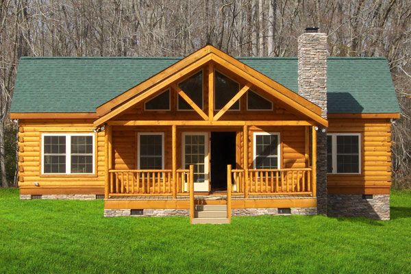 76 best homes images on pinterest journals logs and for Mother in law cottage log cabin