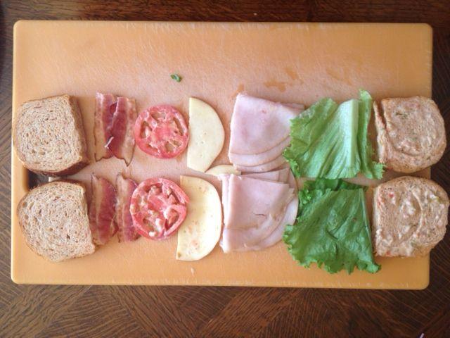 unprocessed sandwich panera bread experiment