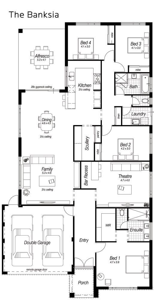 Single Storey Homes Designs Perth  The Banksia   Ross North Homes. Best 25  Storey homes ideas on Pinterest   2 storey house design