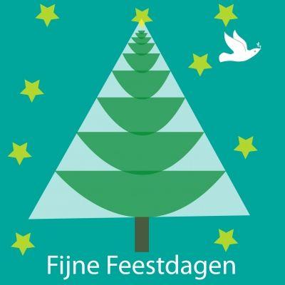 boom met duif (© www.letterpost.nl)