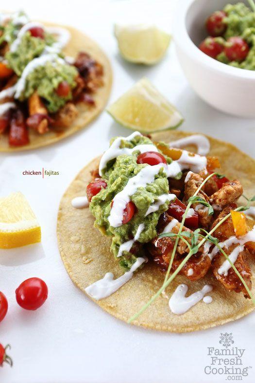 Chicken Fajitas | FamilyFreshCooking.com