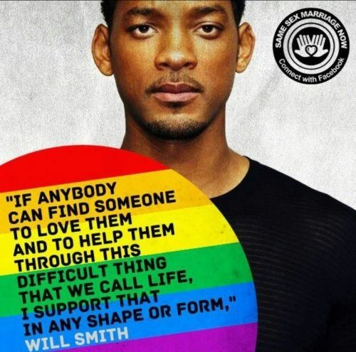 human rights. I'm not gay, but I completely support it. no judgements