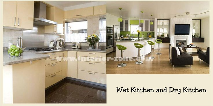 Wet and dry kitchen home designs pinterest kitchens for Dry kitchen ideas