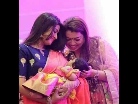 Actress Actress Sneha with Her Sister Sangeetha with Rubhika