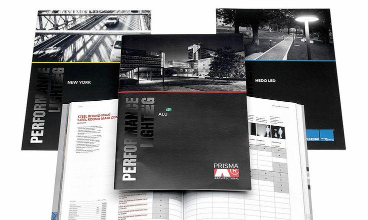 #PerformanceinLighting: progetto grafico delle brochure di prodotto