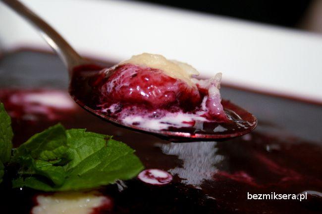 #zupa #jagody Polecam na obiad :-)