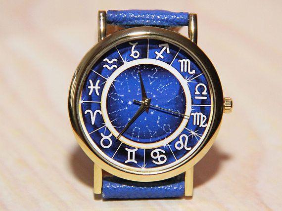 Zodiac watches, Wristwatch signs zodiaa,constellation watches, Mens watch